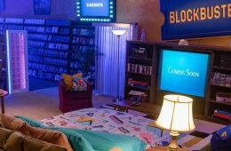 Blockbuster Store Airbnb Open For Guests' Retro Movie Sleepover 4