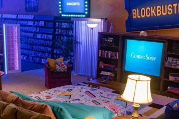 Blockbuster Airbnb Store America