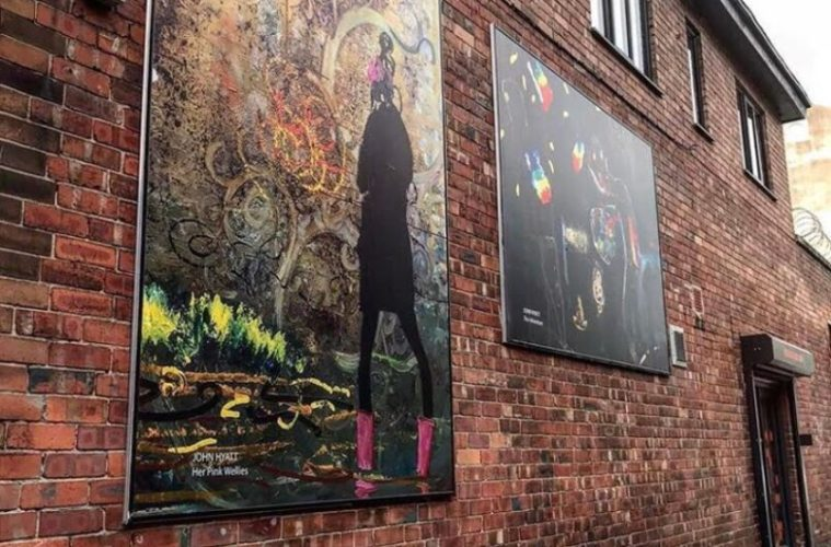 Fabric District Outdoor Art Gallery