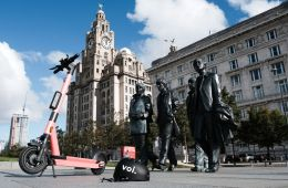 E-Scooters For Hire in Liverpool City Centre