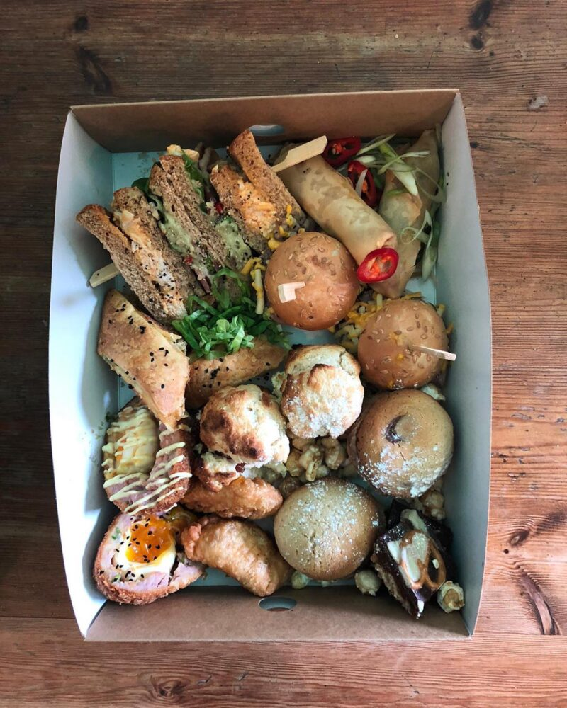 Get The Baltic Social Punk Afternoon Tea Delivered To Your Door Liverpool
