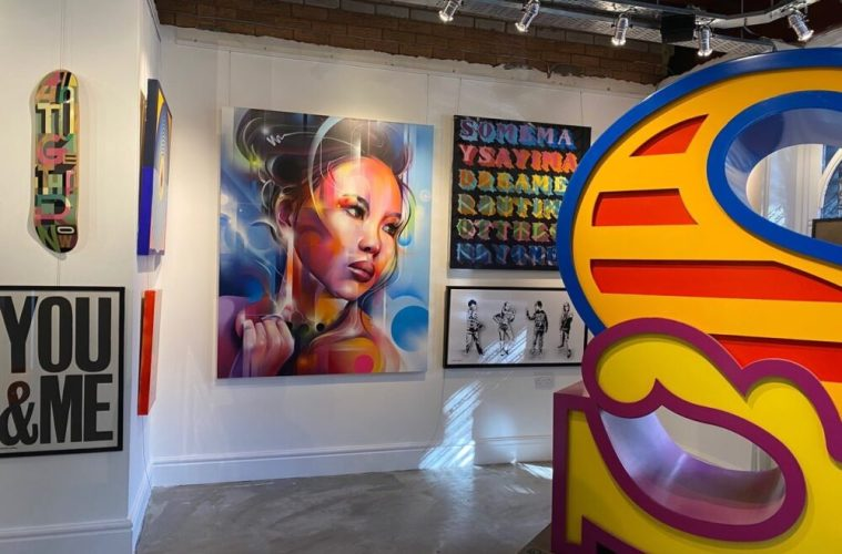 New Brighton's Oakland Gallery Brings Together Top Names In British Street Art 1