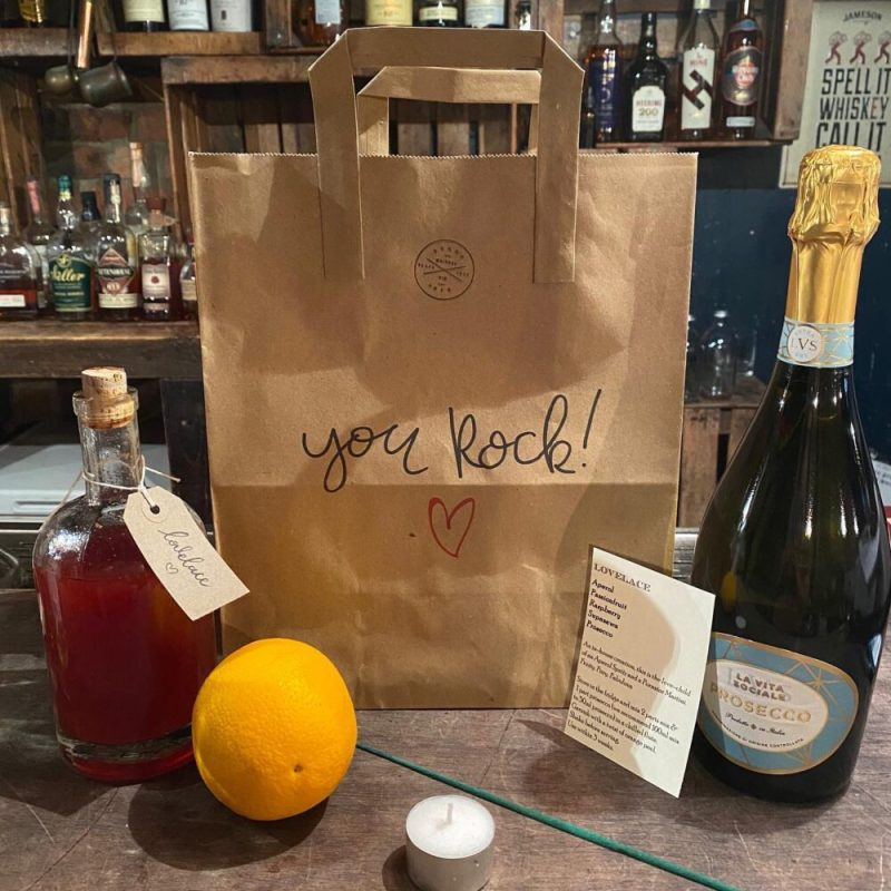Support Liverpool Businesses Berry and Rye Cocktails