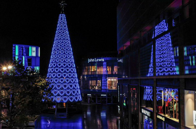Christmas Lights At Liverpool ONE