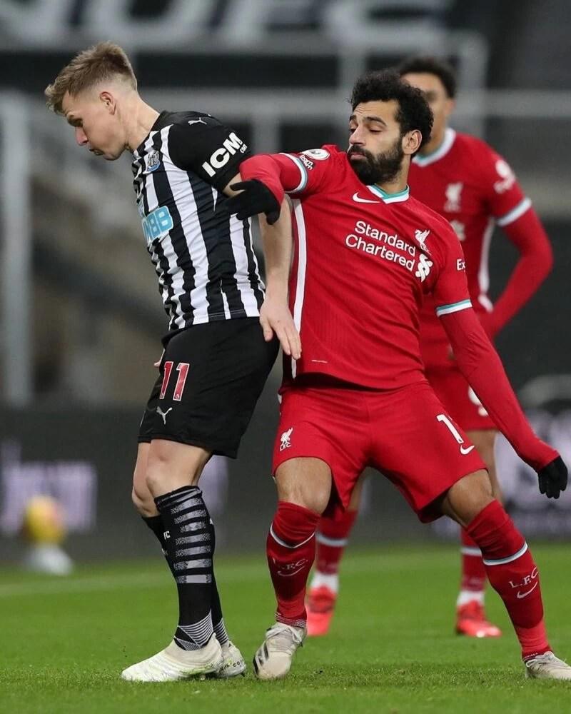Liverpool FC Salah VS Newcastle