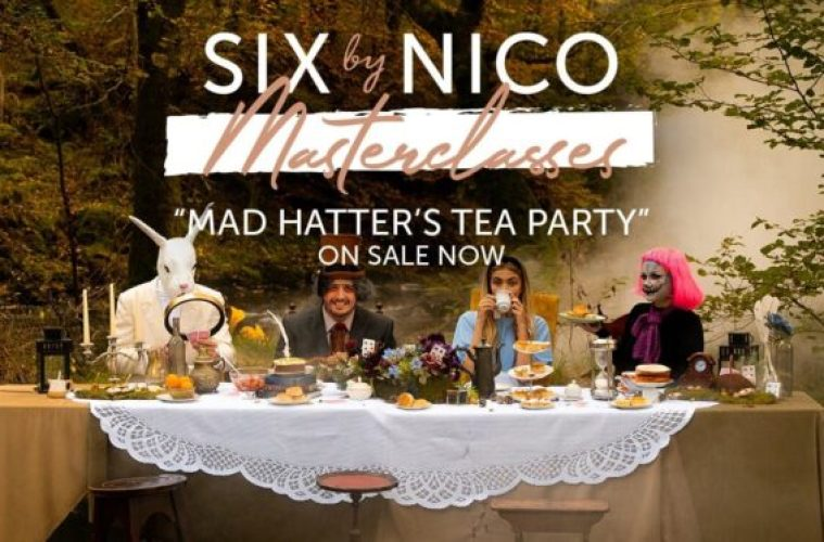 Six By Nico Mad Hatters Tea Party