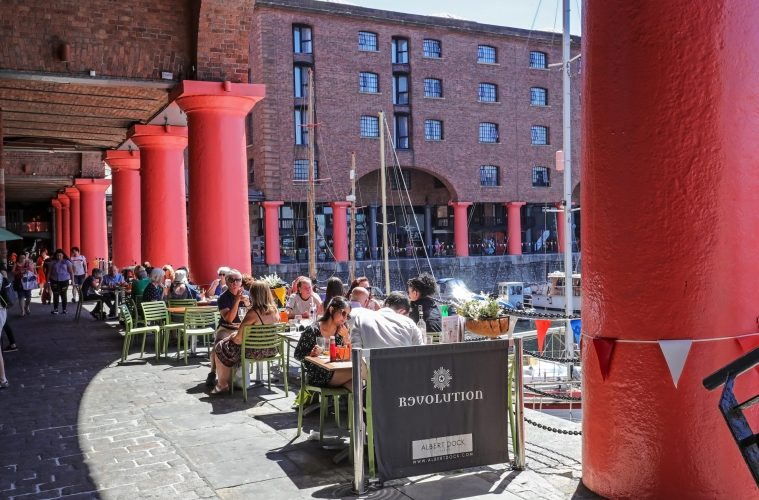 Royal Albert Dock extends outdoor seating ahead of re-opening