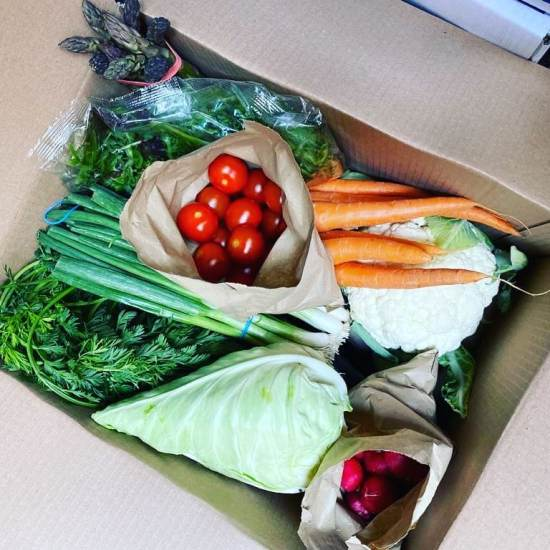 Fruit and Vegetable Boxes Green Vita Liverpool Delivery