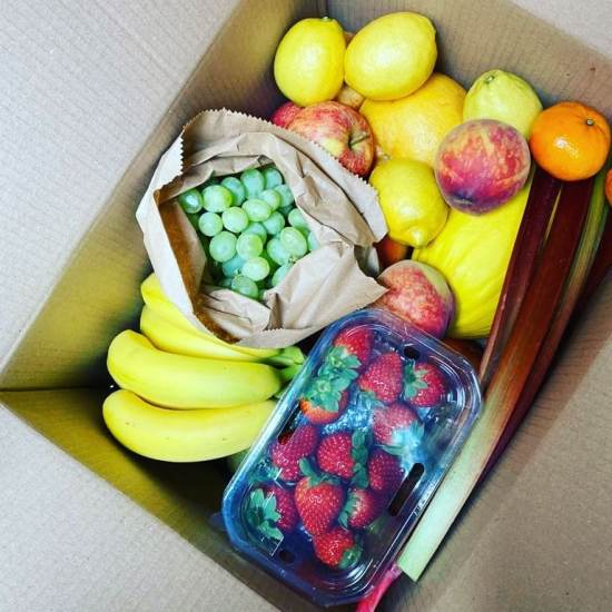 Fruit and vegetable boxes Green Vita