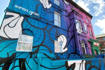 Body Work Exhibition By Insa - Insa Mansions - credit New Brighton Street Artjpg