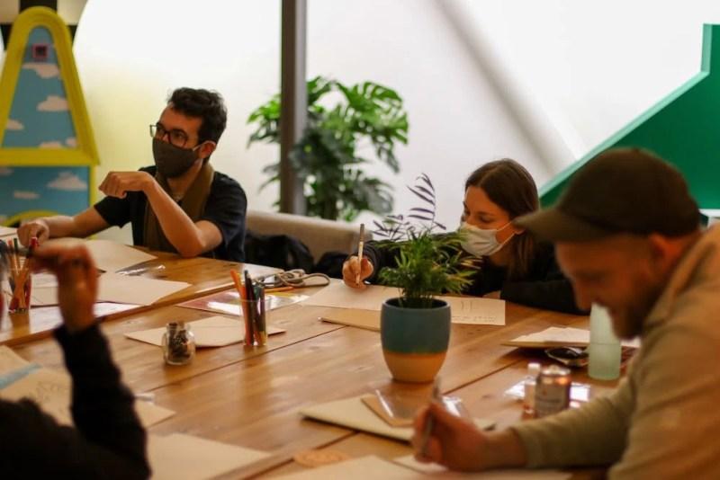 Convenience Gallery Artist development session