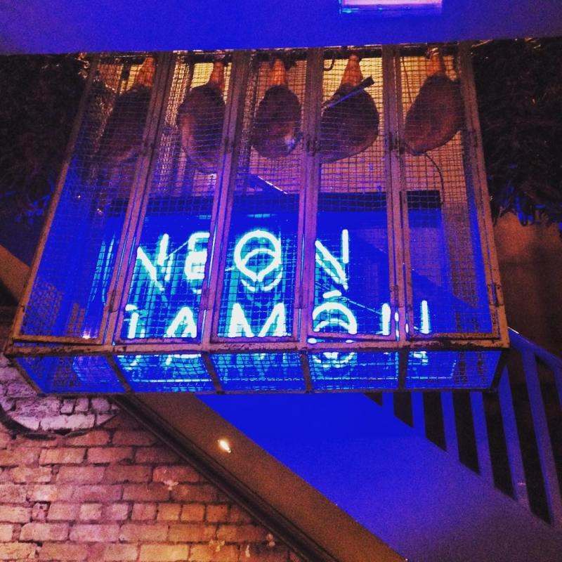 Neon Jamon allerton