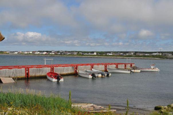 Boats at Sandy Cove