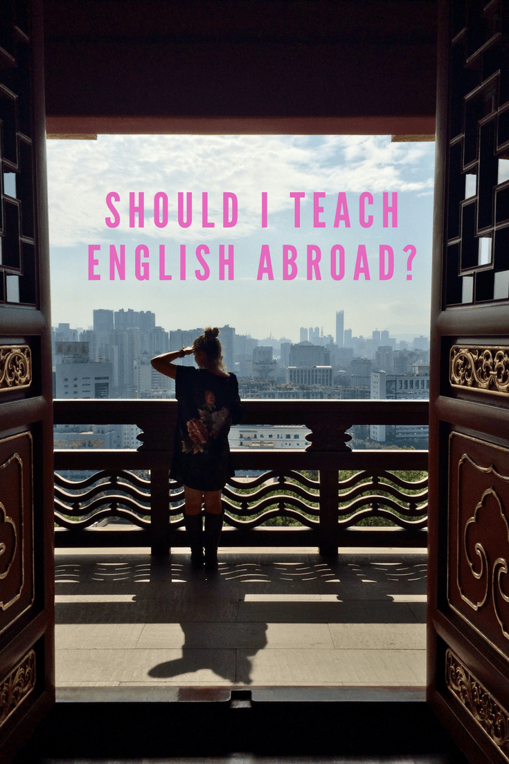 Should I teach English abroad?