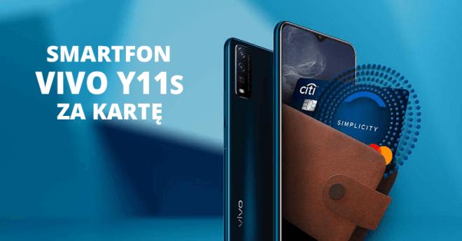 VIVO Y11s za kartę kredytowąCitibank