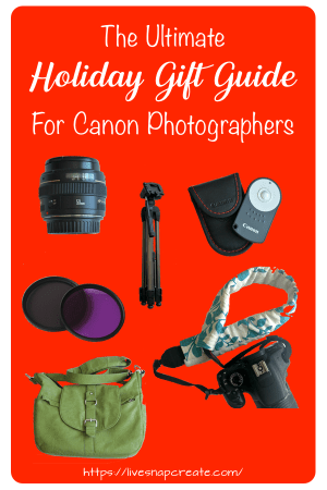 Canon Photographer Gift Guide