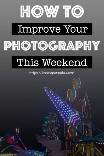 Here are 8 easy steps to improve your DSLR photography this weekend.