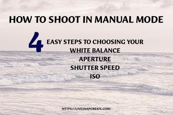 How To Shoot In Manual Mode With a DSLR Camera