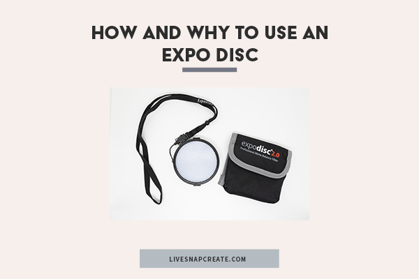 How to Use an Expo Disc for White Balance