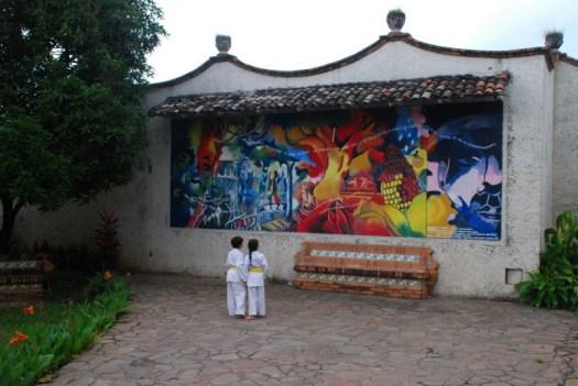 Karate Kids in Leon