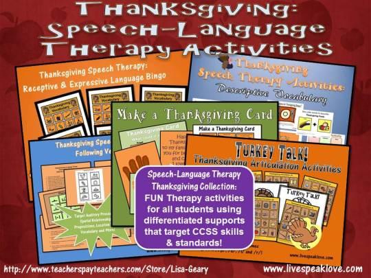 Happy Thanksgiving from LiveSpeakLove!