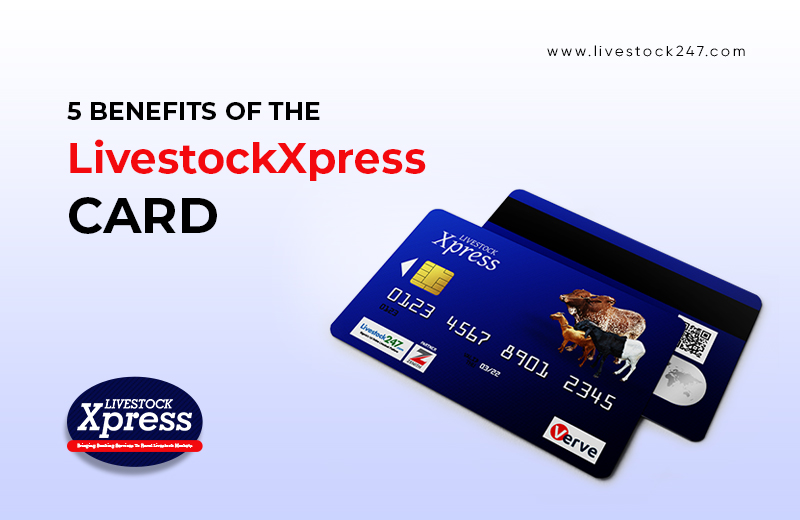 5  Benefits of the LivestockXpress card