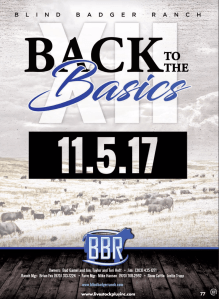 "Blind Badger Ranch ""Back to Basics"" Sale"