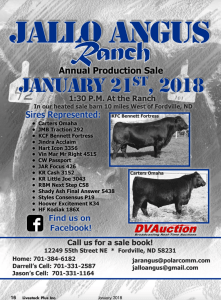 Jallo Angus Ranch @ At the Ranch | Fordville | North Dakota | United States