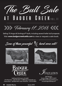 The Bull Sale at Badger Creek @ Badger Creek Ranch | Emporia | Kansas | United States