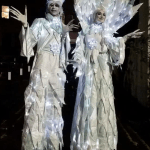 Festive Stilt Walkers