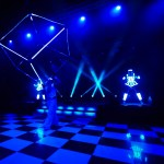 LED Cube Spinning