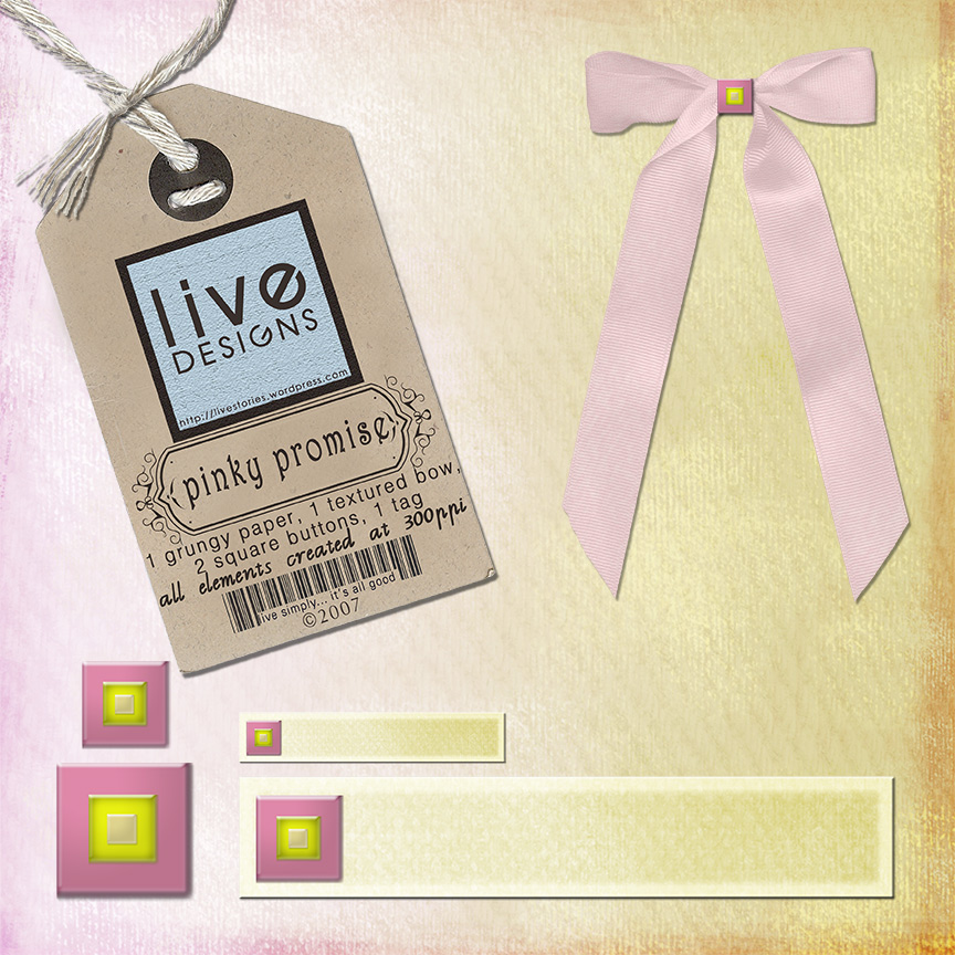 LivEdesigns Pinky Promise Set 5