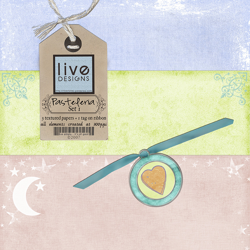 LivEdesigns Pasteleria Set 1