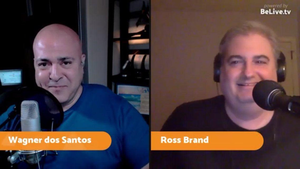 Ross Brand Wagner dos Santos Livestream Universe News
