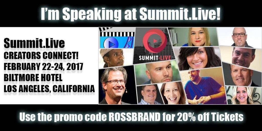 Ross Brand Speaker Summit Live