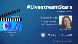 LivestreamStars Bonnie Frank Ross Brand