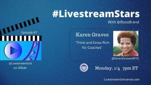 LivestreamStars Karen Graves Ross Brand