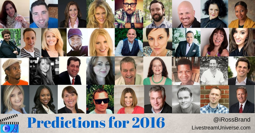 2016 livestreaming prediction
