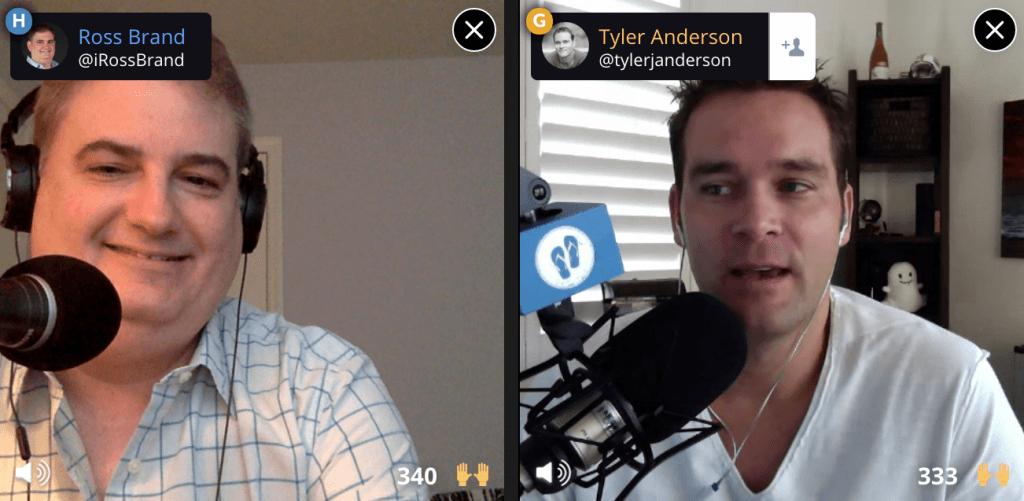 Livestream Universe Ross Brand Tyler Anerson