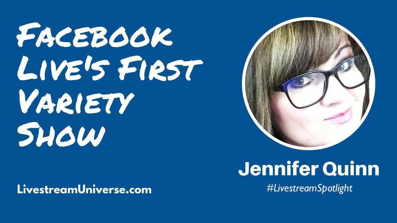 Livestream Universe Spotlight Jennifer Quinn