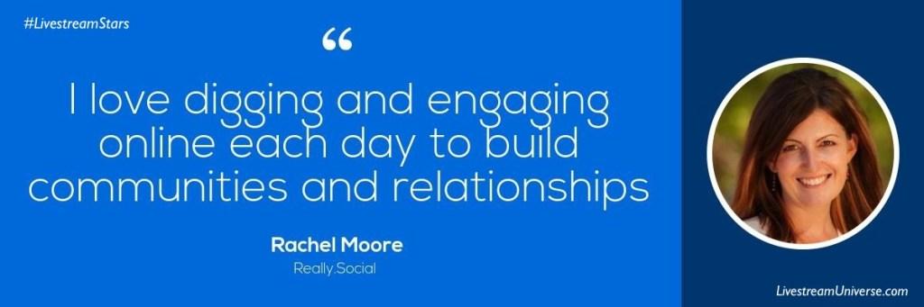Rachel Moore Quote