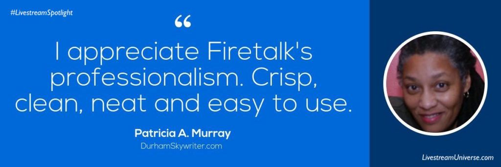 Patricia A Murray Quote Firetalk Livestream Universe