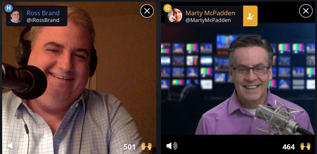 Livestream Universe Ross Brand Marty McPadden