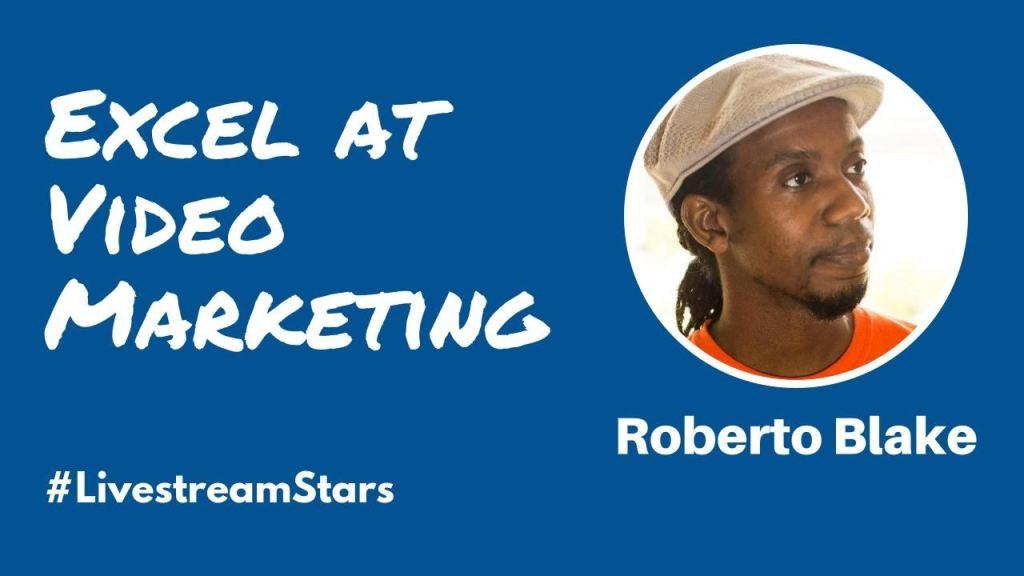 Roberto Blake Livestream Universe Stars