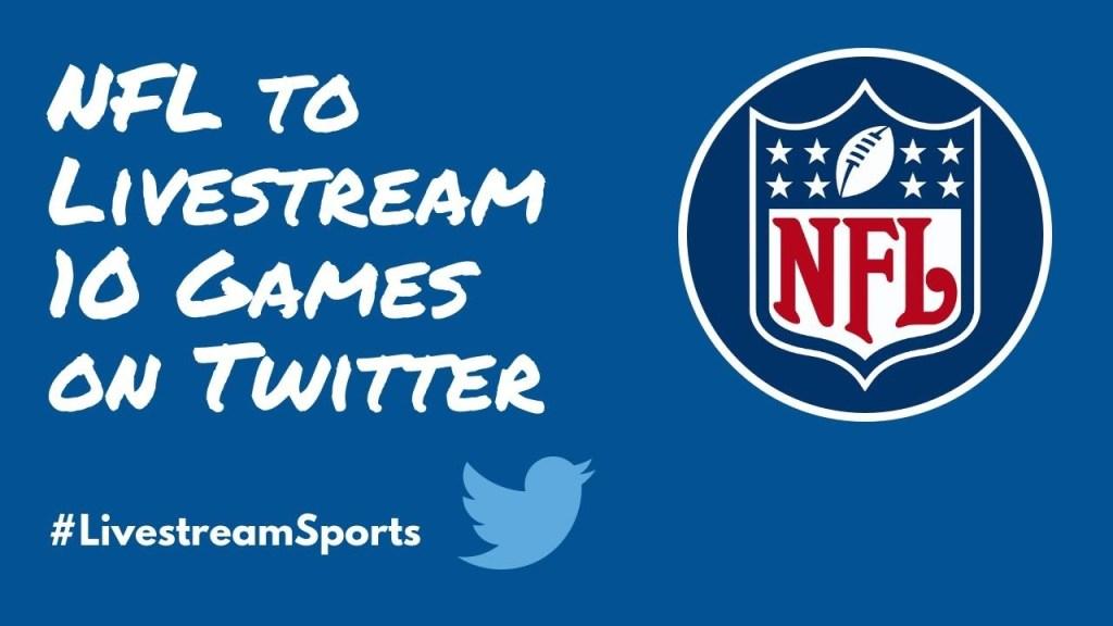 NFL Twitter Ross Brand Livestream Universe Sports
