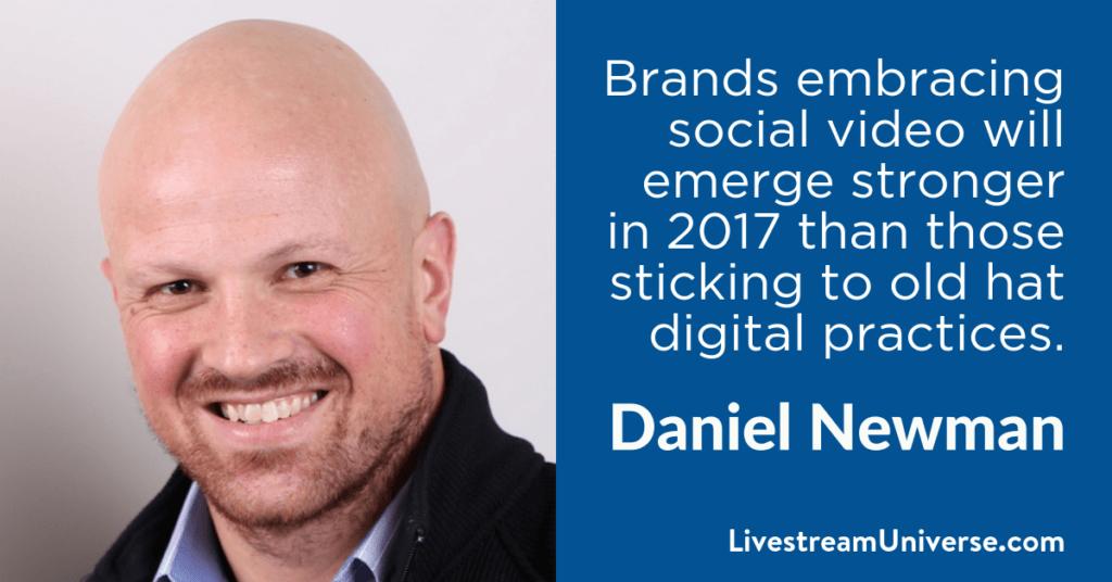 Daniel Newman 2017 Prediction Livestream Universe
