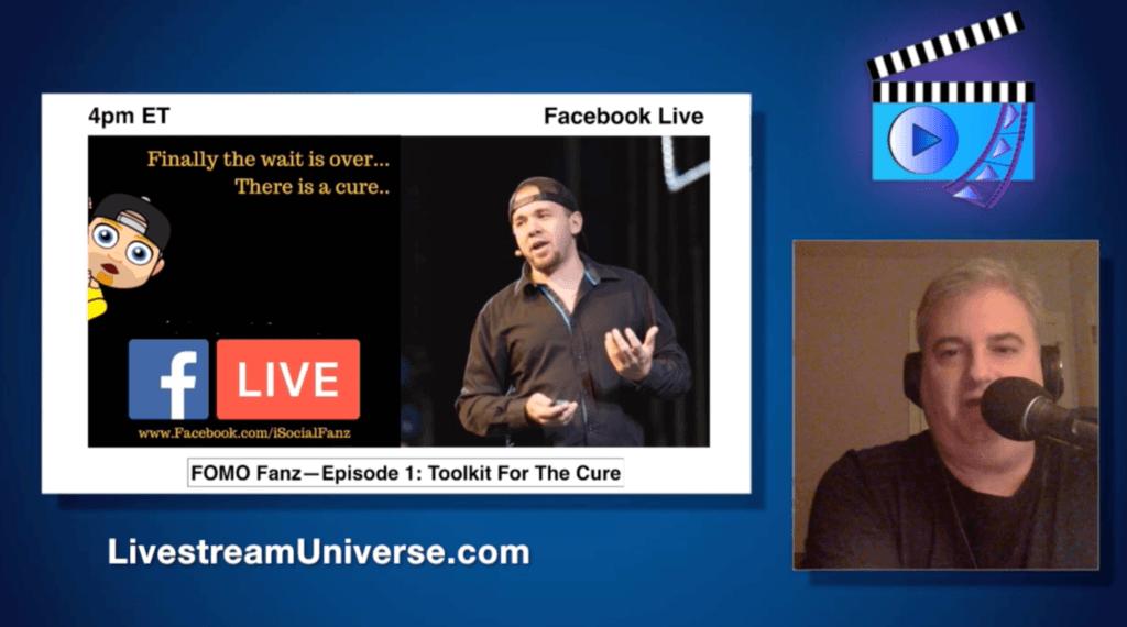 Brian Fanzo isocialfanz FOMO Ross Brand Livestream Universe