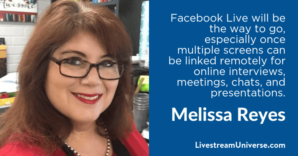 Melissa Reyes 2017 Prediction Livestream Universe