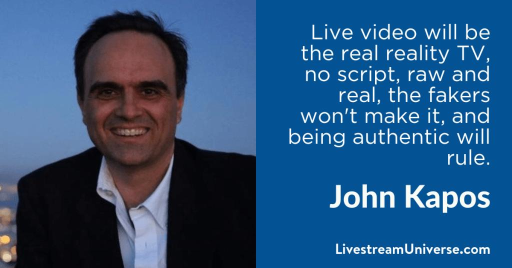 John Kapos 2017 Prediction Livestream Universe