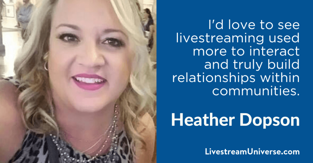 Heather Dopson GoDaddy 2017 Prediction Livestream Universe